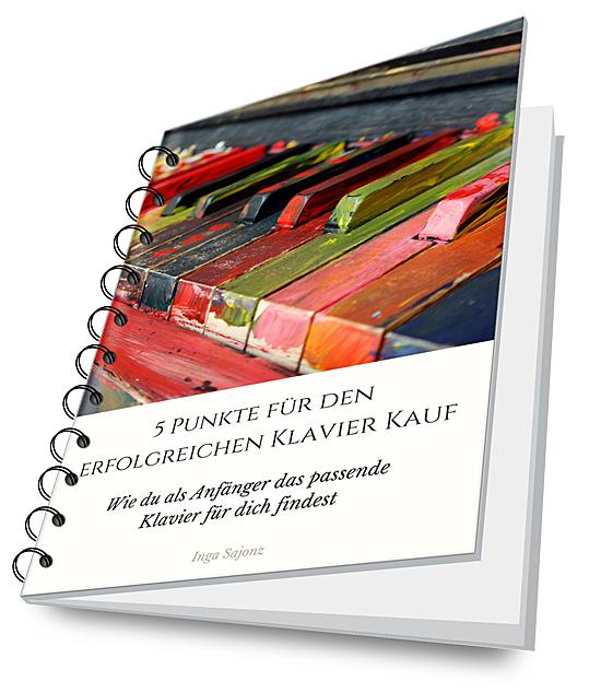eCover 5 Punkte zum erfolgreichen Klavier Kauf